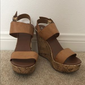 Target Mossimo brand wedges, lightly worn